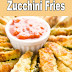 How To Make Baked Parmesan Zucchini Fries