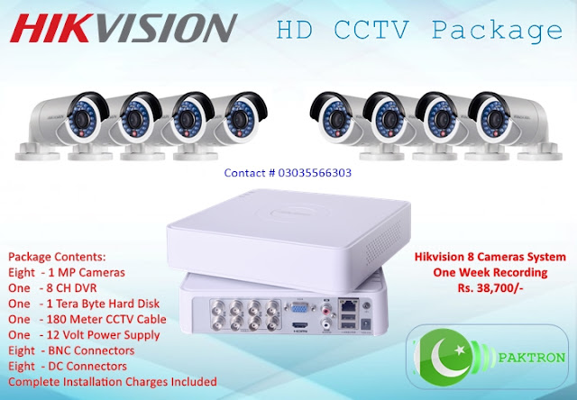 Hikvision HD CCTV Package