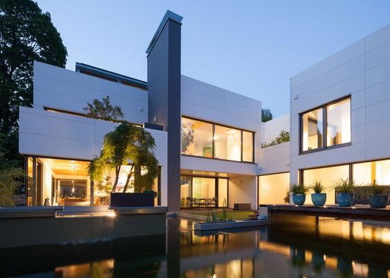 model rumah minimalis model villa mewah