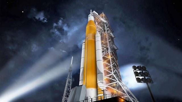 NASA ANUNCIA O SEU FOGUETE MAIS PODEROSO QUE SERÁ LANÇADO A LUA EM 2024