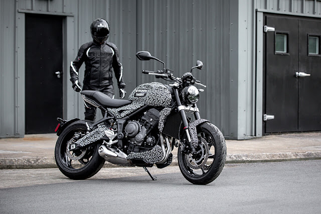 2021 Triumph Trident Roadster  In Final Stage Of Production | Photos, Futures