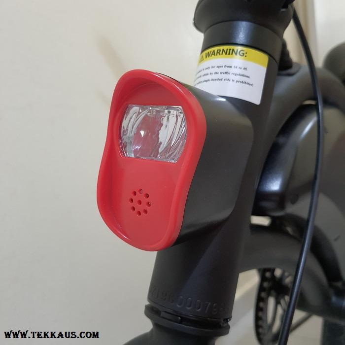 DYU D3+ Electric Bike Front LED Light