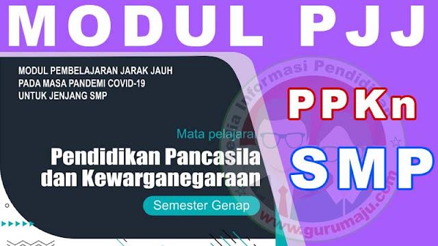Download Modul PJJ PPKn Kelas 7 SMP Semester 2 (Genap)