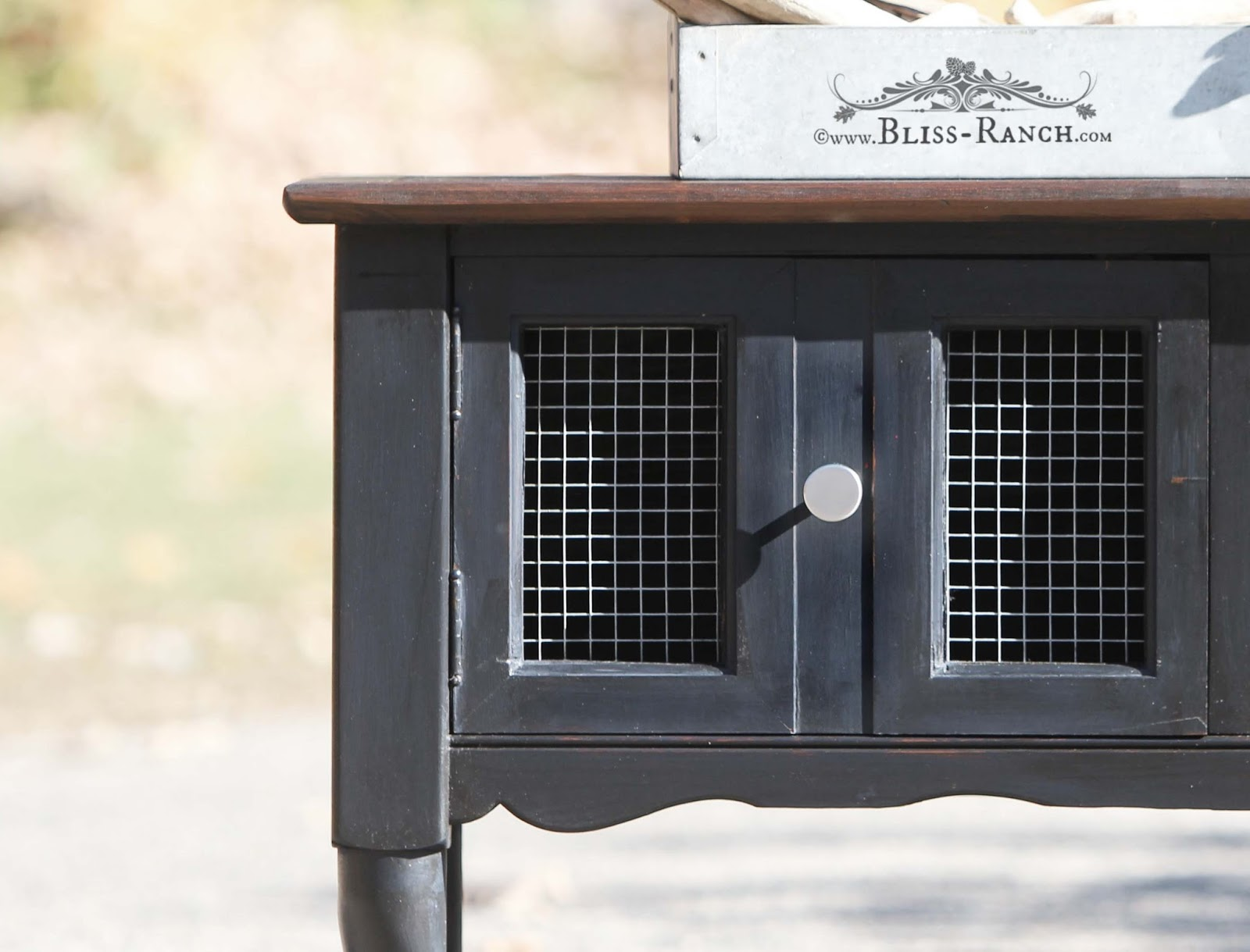 Upcycled Entertainment Center Bliss-Ranch.com