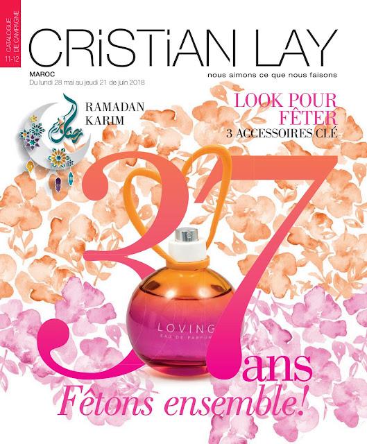 catalogue cristian lay maroc mai juin 2018
