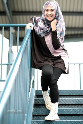 model hijab casual casual modern