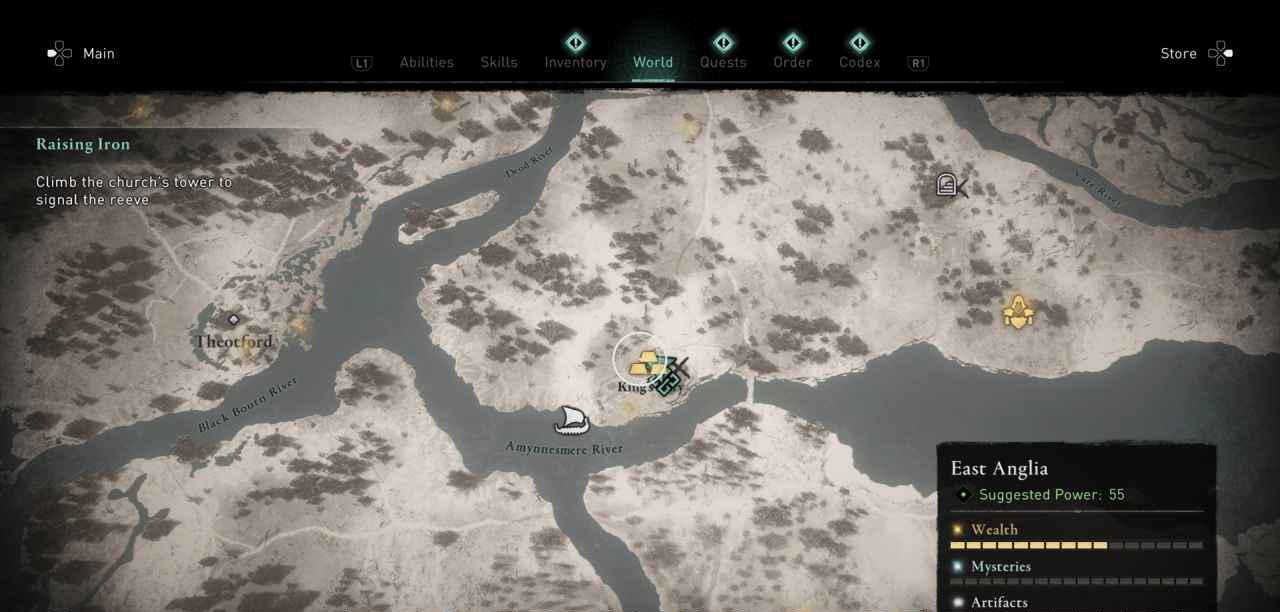 Ingot 38 Map 2