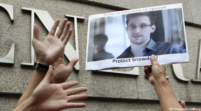 Edward Snowden asylum : Hong Kong, Ecuador and Iceland