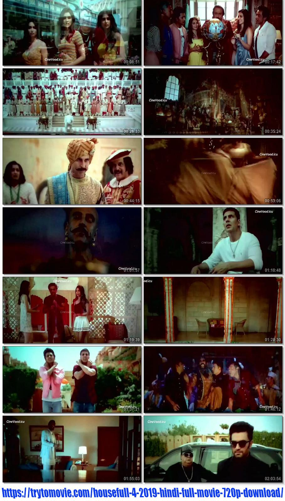 Housefull 4 2019 Hindi Full Movie 720p Download