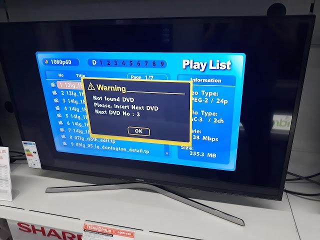 Samsung UE43MU6172U TV