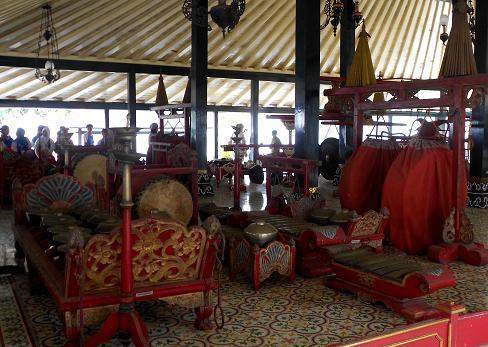 gamelan milik Kesultanan Yogyakarta