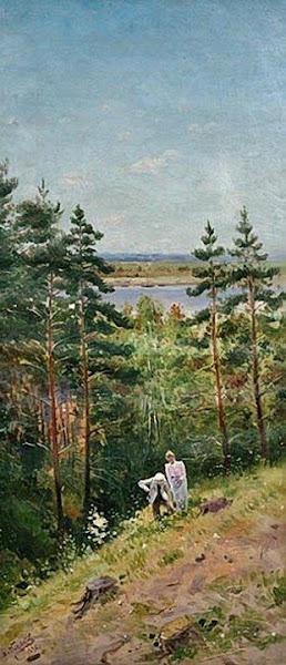 Маковский Владимир Егорович - Лето. 1896