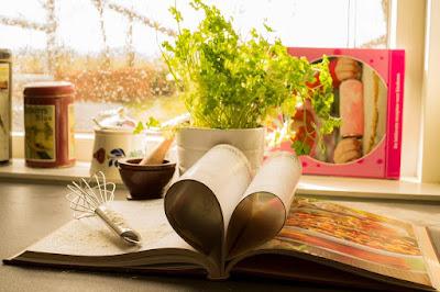 Książka w kuchni