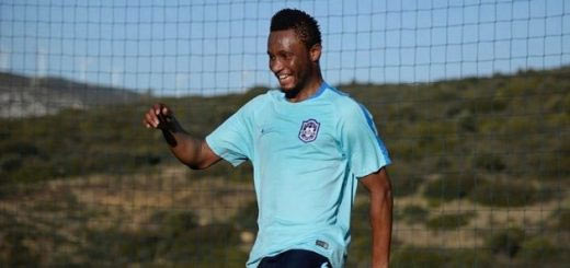 Mikel loses 3rd match for his new club