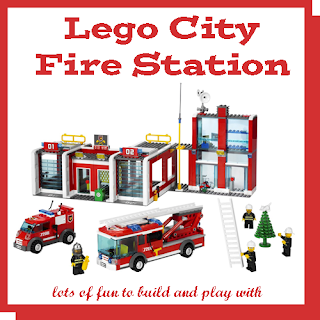 """Lego Set 7208"" ""Lego City Fire Station"" ""Lego Fire Station"""