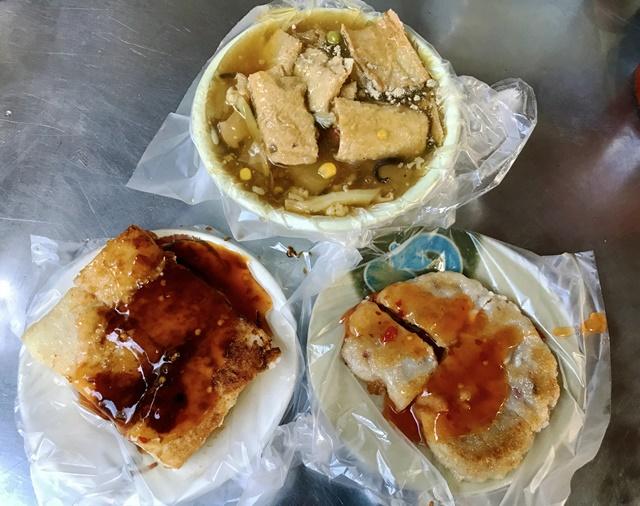 傳統無名素食早餐~台北捷運大橋頭站素食