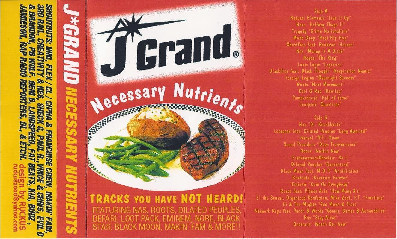 Only Built For zShare Links   : J Grand 'Necessary Nutrients' (1999)