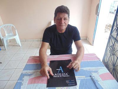 Guajaramirense emplaca invento no registro de patentes