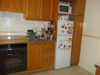 chalet adosado en venta calle zarauz grao castellon cocina