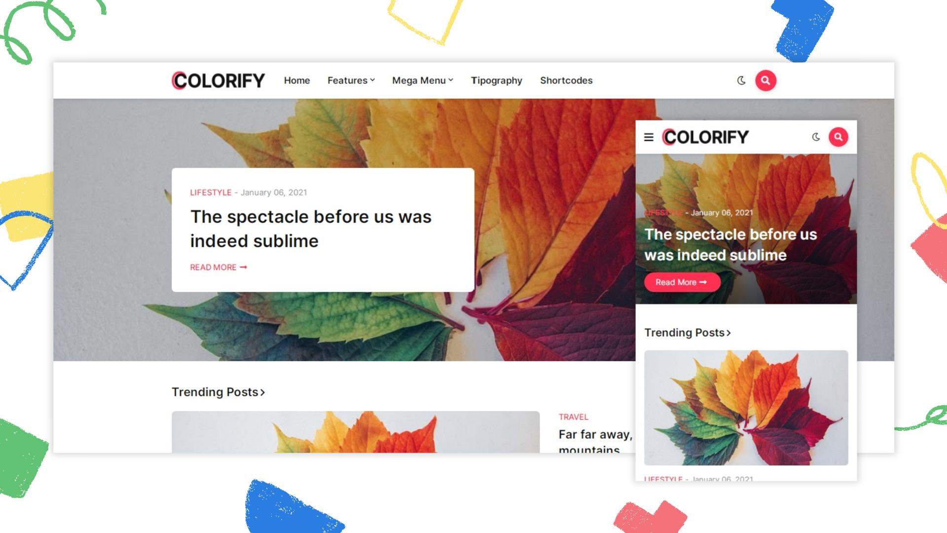 colorify-premium-blogger-template