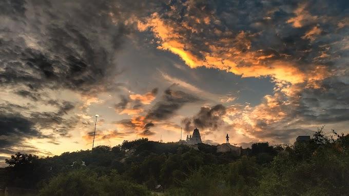 Drama in sky