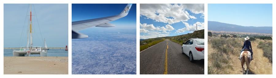 Etats-Unis en avion, en bâteau, à cheval et en voiture