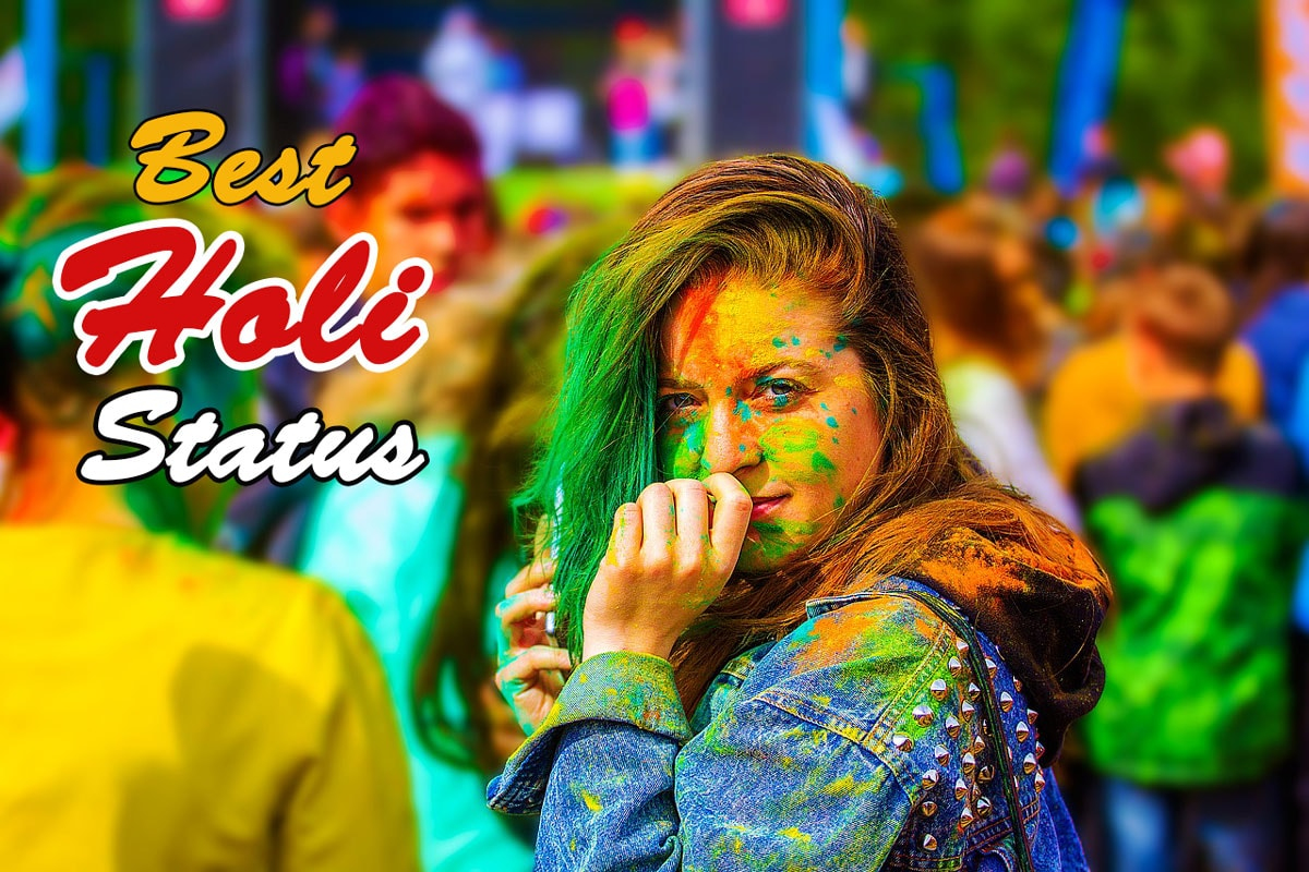 Best Holi status collection