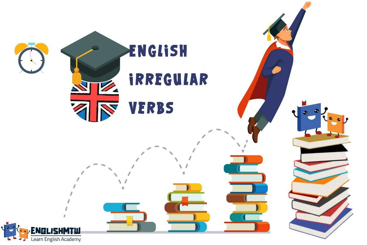 شرح قاعدة الأفعال الشاذة أو الغير منتظمة irregular verbs في الانجليزية