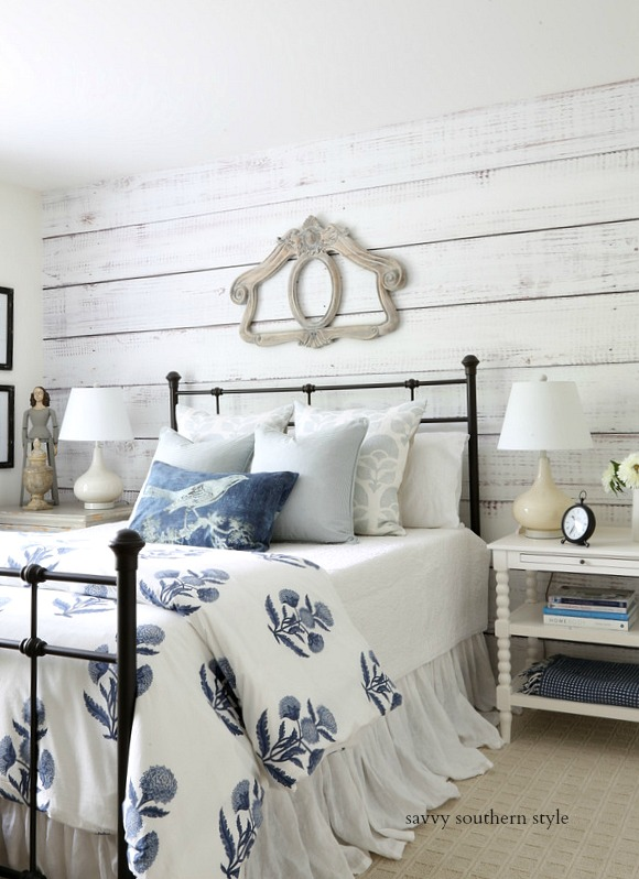 Savvy Southern Style Spring Farmhouse Style Bedroom