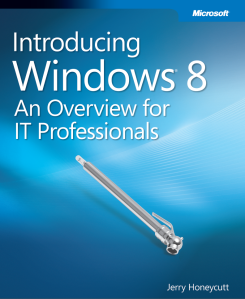 e-Book Windows 8 - An overview for IT professionals