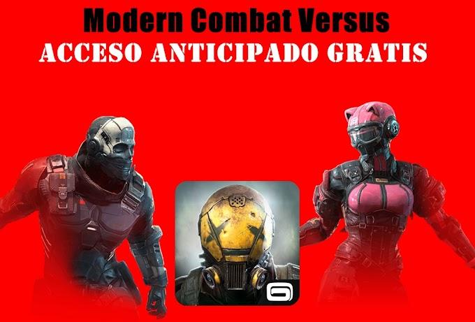 Modern Combat Versus Android: Descargar Gratis
