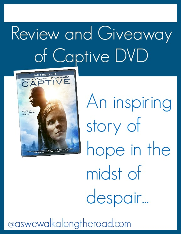 Review and giveaway of Captive DVD