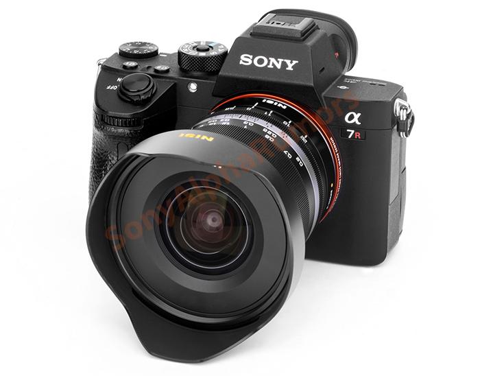 Объектив NiSi с камерой Sony