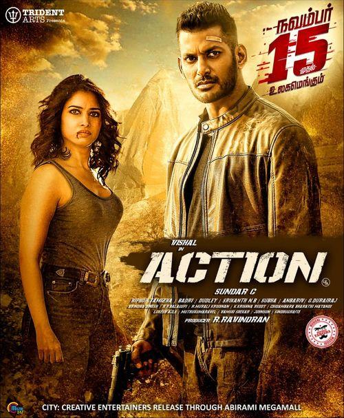 Action 2019 UNCUT Dual Audio ORG Hindi 720p HDRip 1.6GB DD5.1Ch ESubs 1