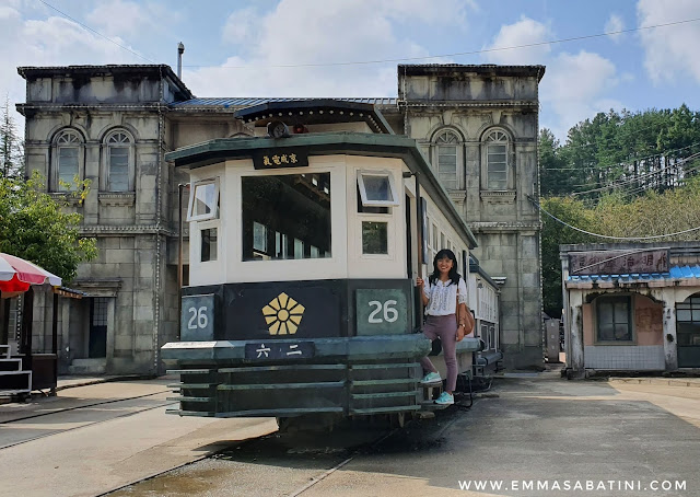 Hapcheon Movie Theme Park train