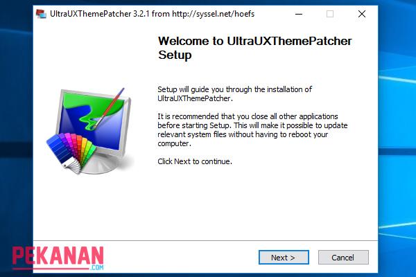 Cara Menginstall UXThemePatcher Pada Windows 10