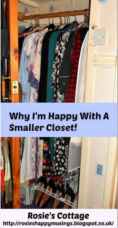Why I'm Happy With My New Smaller Closet