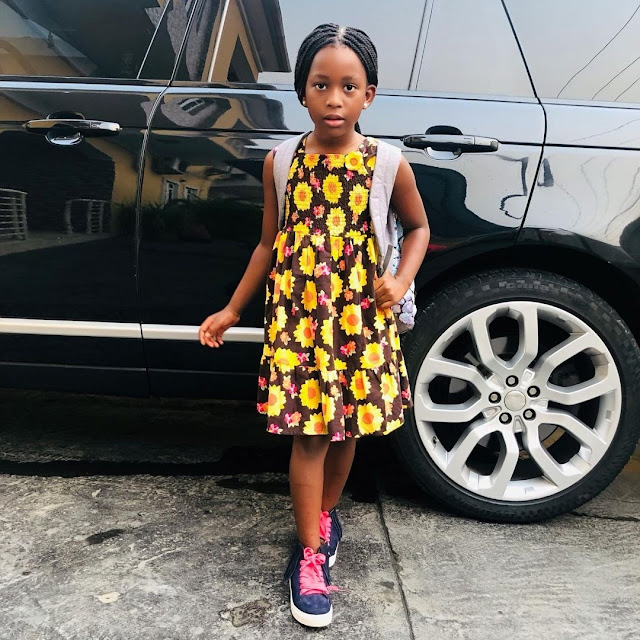 Meet Comedian Bovi's Beautiful Daughter Who Looks So Much Like Him