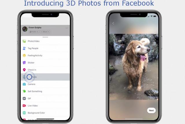 Bisa Posting Foto 3D di Facebook,  Baca Caranya