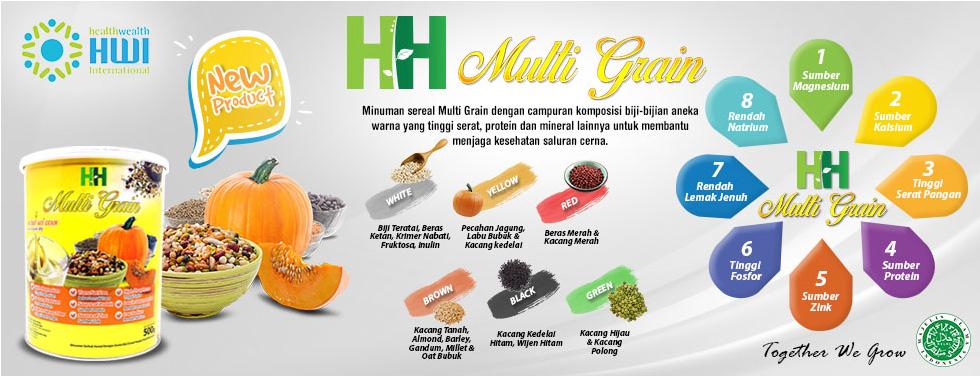 HH Multigrain | Gudang HWI - Official Distributor PT. HWI