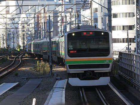 【まさかの臨時運用】E233系の各駅停車 品川行き