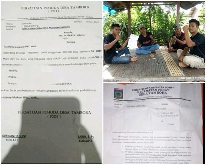 Audiensi Ditolak! P2DT Akan Geruduk Kantor Desa Tambora Lewat Aksi Demonstrasi