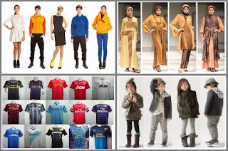 35 Jenis Usaha Fasions/Pakaian bisa dijadikan Inspirasi