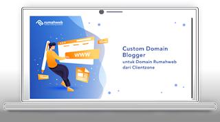 Cara Custom Domain Blogger (blogspot.com Menjadi .com)