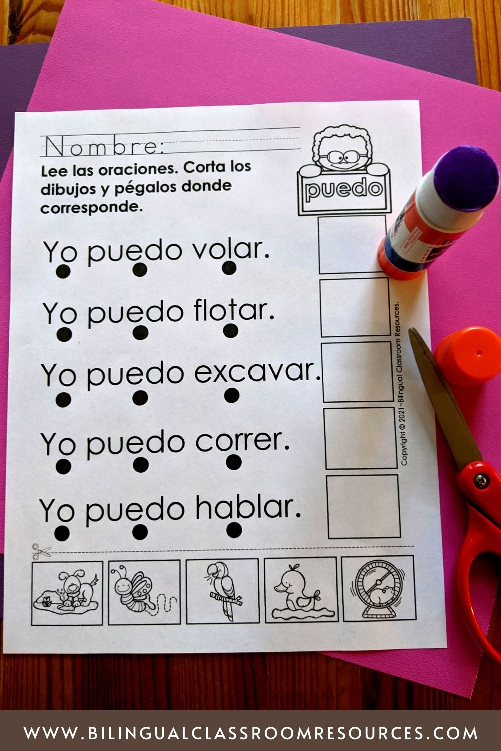 High frequency words in spanish