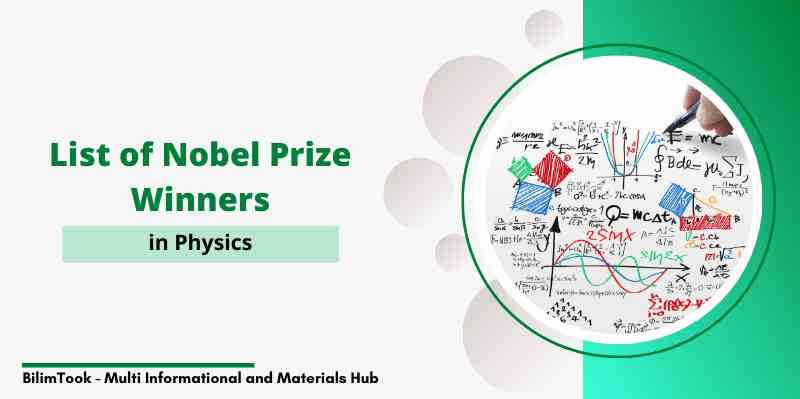 List of Nobel Prize Winners in Physics PDF [1901 to 2019]