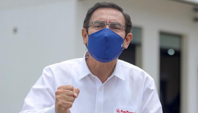 Martín Vizcarra sobre la corrupción en Perú