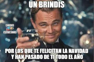 Leonardo DiCaprio felicita Navidad aquellos que han pasado de ti todo el año