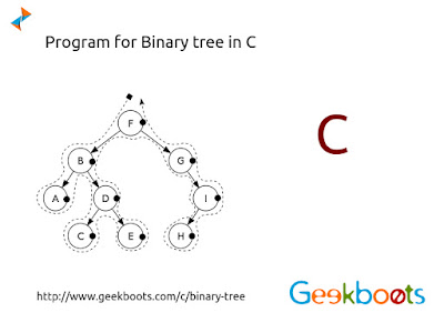 https://www.geekboots.com/c/binary-tree