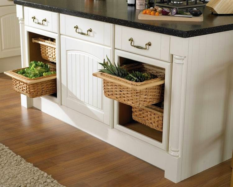 Kitchen Baskets: Produce Storage With A Warm Touch